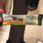 歯磨きガム【グリーニーズ】の食いつきがヤバい・・!!添加物の不安も。