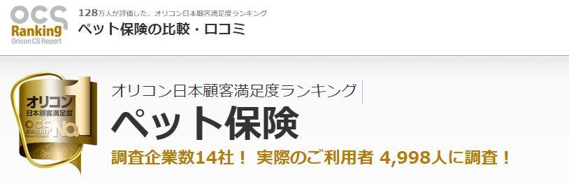 oricon - 【ステマ撲滅】信頼できるペット保険の口コミサイトまとめ!