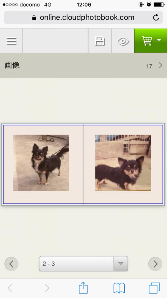 IMG 2848 576x1024 - チワワ君との7年間の思い出をアルバムにしてみた!スマホの愛犬との写真をフォトブックで永遠に。