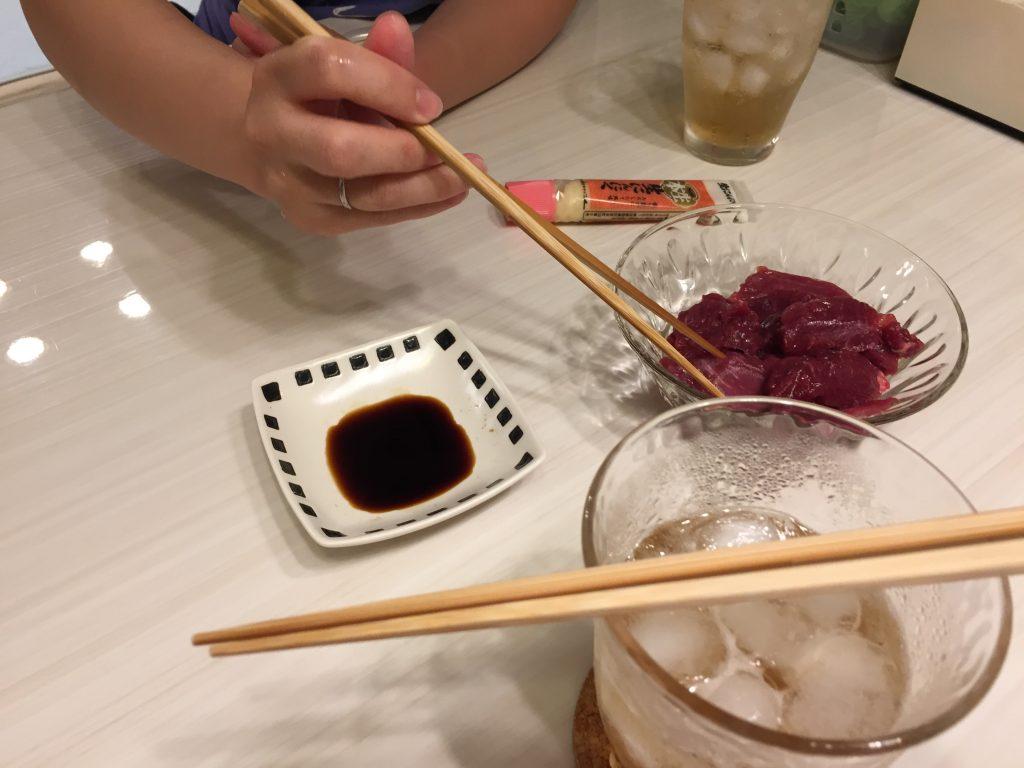 IMG 7164 1024x768 - 本場熊本の馬刺しを食べてみました!※馬肉パラパラミンチの【熊本馬刺しドットコム】で購入