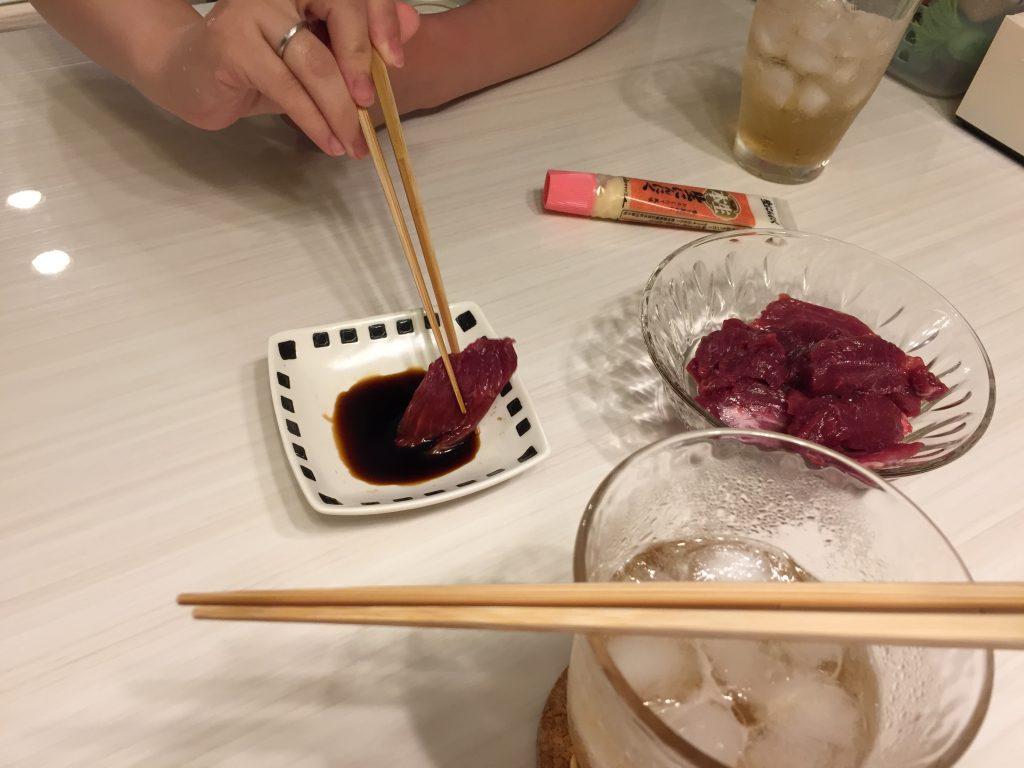 IMG 7167 1024x768 - 本場熊本の馬刺しを食べてみました!※馬肉パラパラミンチの【熊本馬刺しドットコム】で購入